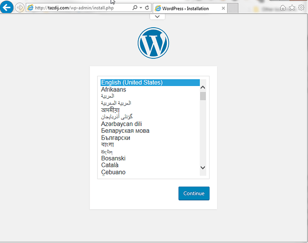 2018-08-21%2010_08_26-WordPress%20%E2%80%BA%20Installation%20-%20Internet%20Explorer