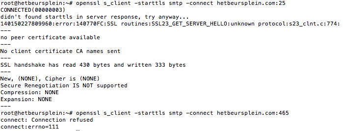 Relay access denied'  Can't send or receive mail - v3